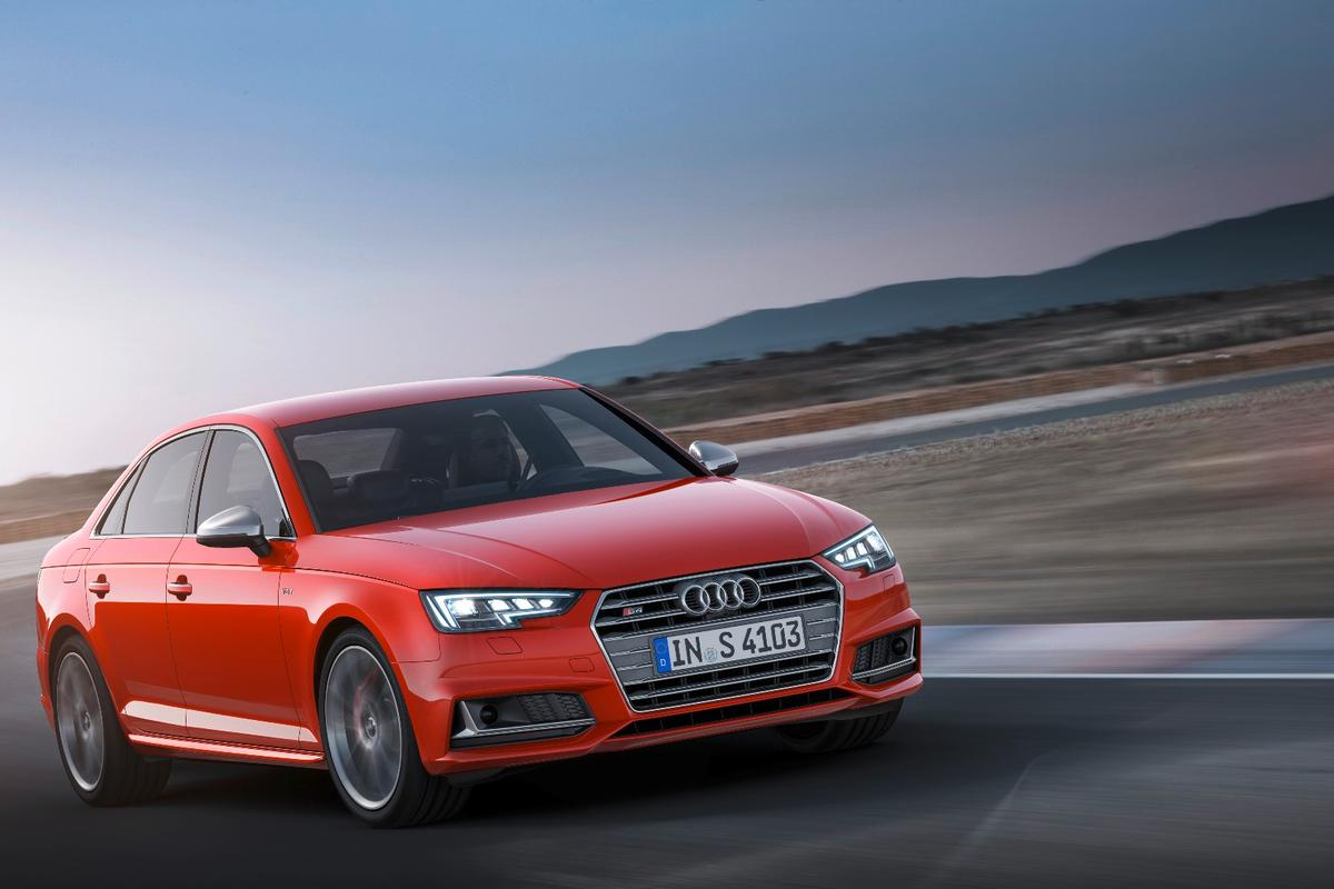 The new Audi S4 will hit 100 km/h in just 4.7 seconds