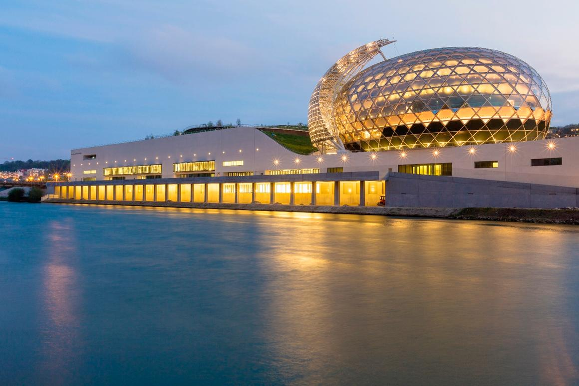 La Seine Musicale was designed in collaboration with local architect Jean de Gastines