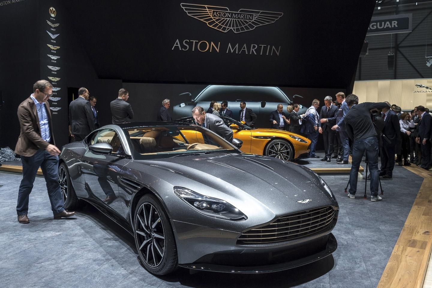 The DB11 on the ground in Geneva