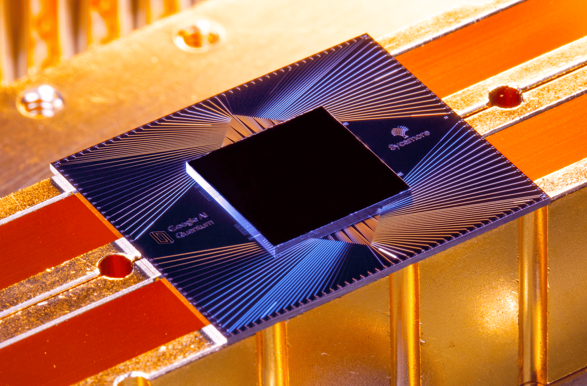 """Google claims its Sycamore quantum computer chip has achieved a long-desired goal of """"quantum supremacy"""" – but rival IBM disagrees"""