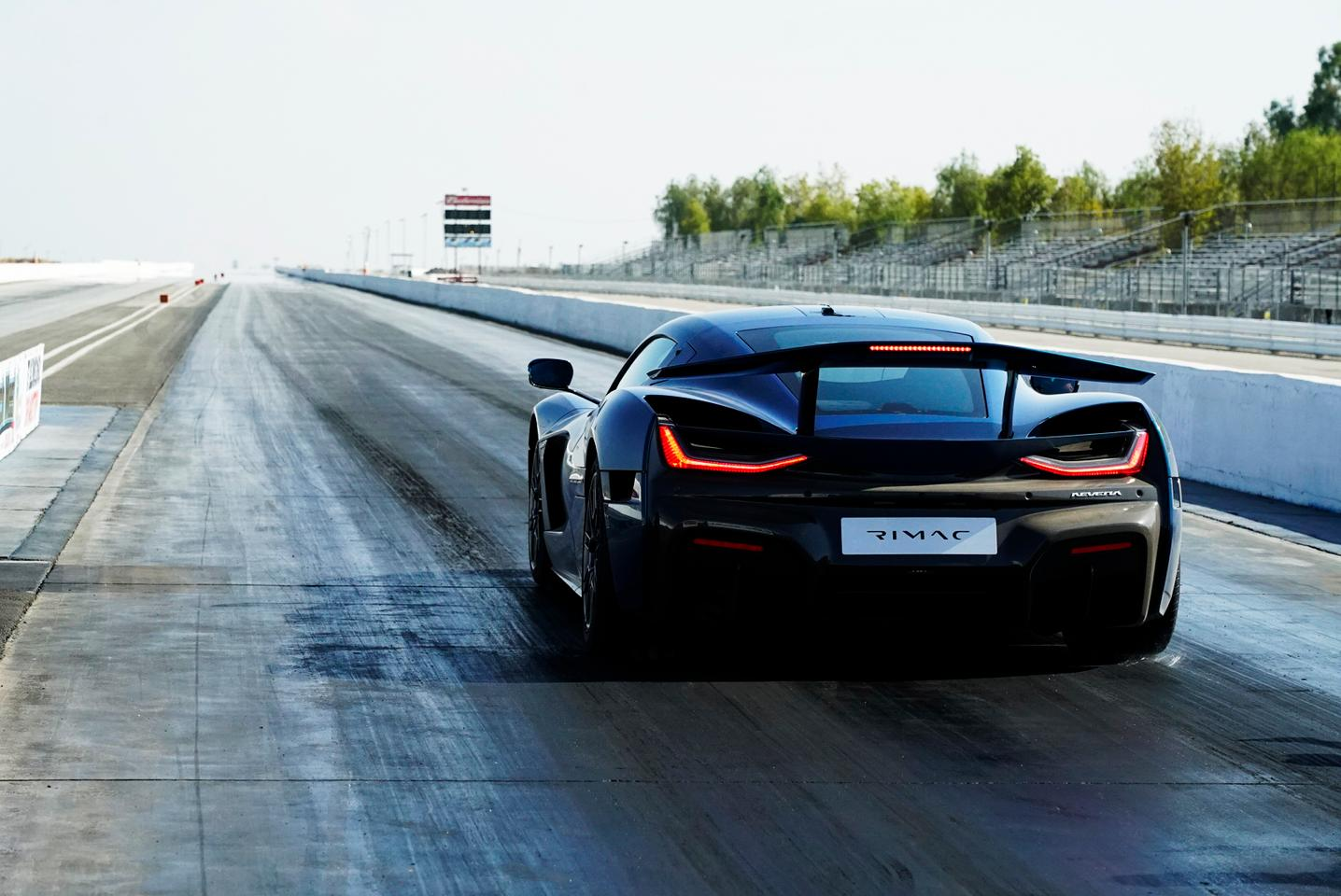 The Rimac Nevera is now the world's fastest production car down the quarter mile