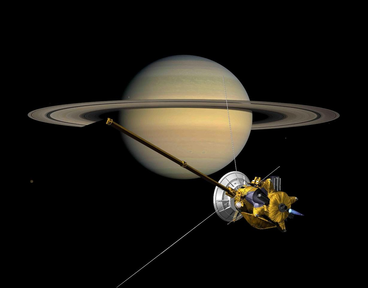 NASA's Cassini spacecraft has been characterizing the Saturnian system since its arrival in 2004