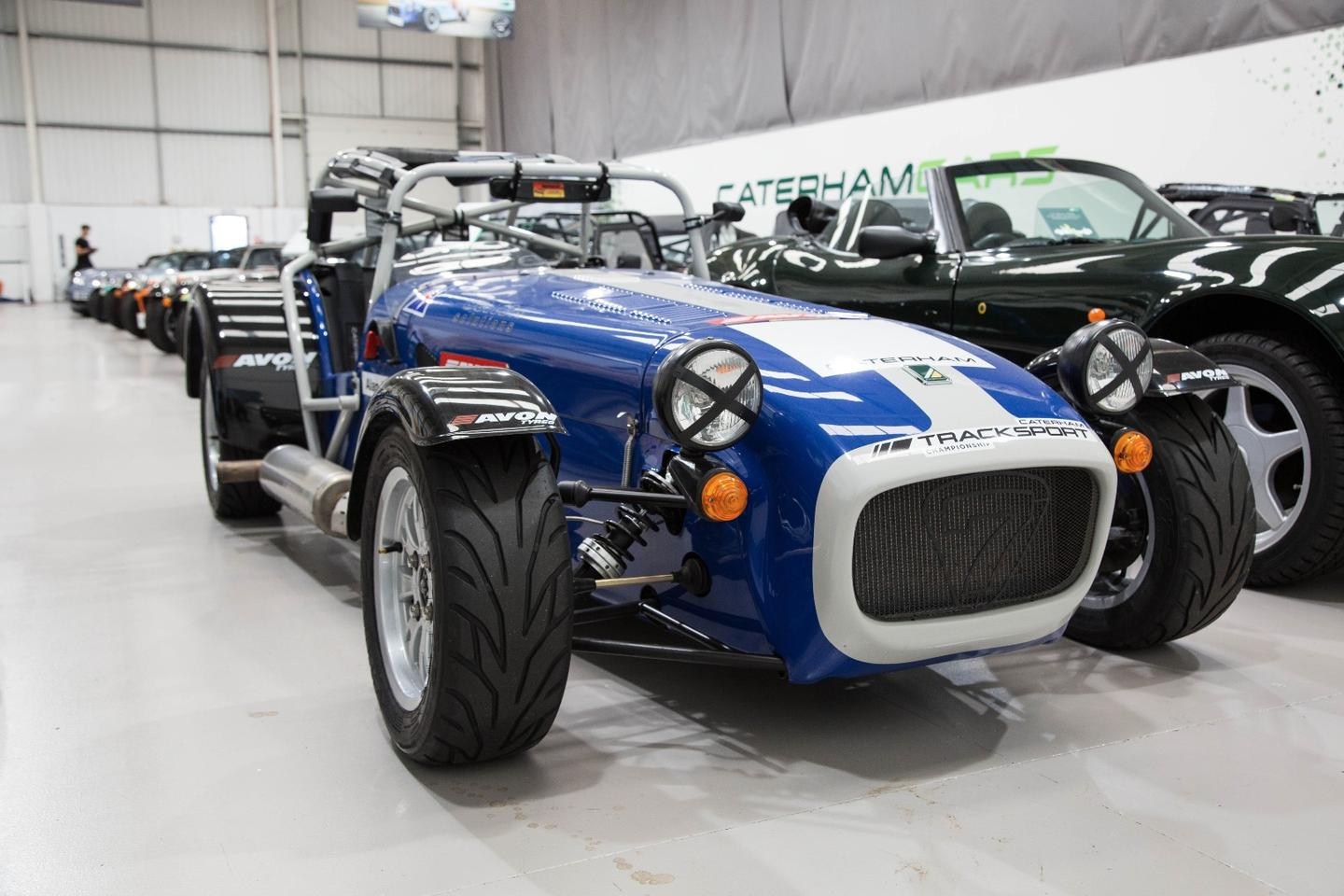 Caterham has created a motorsports ladder, where average joes are able to race alongside people of similar ability