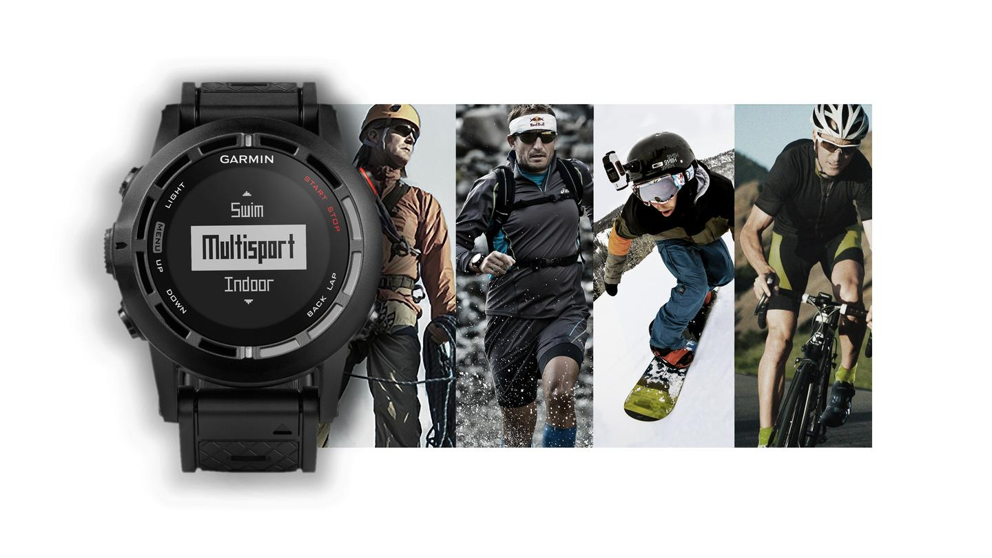 Garmin has launched an updated version of its fēnix smartwatch with added fitness tracking functionality