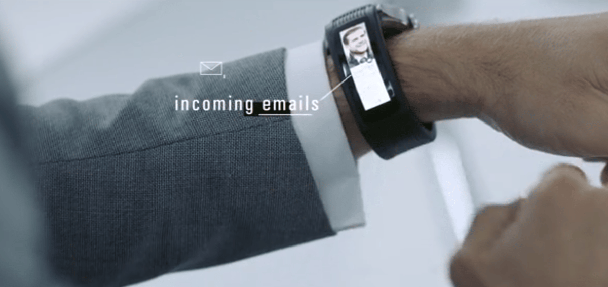 Karios Tband provides push notifications
