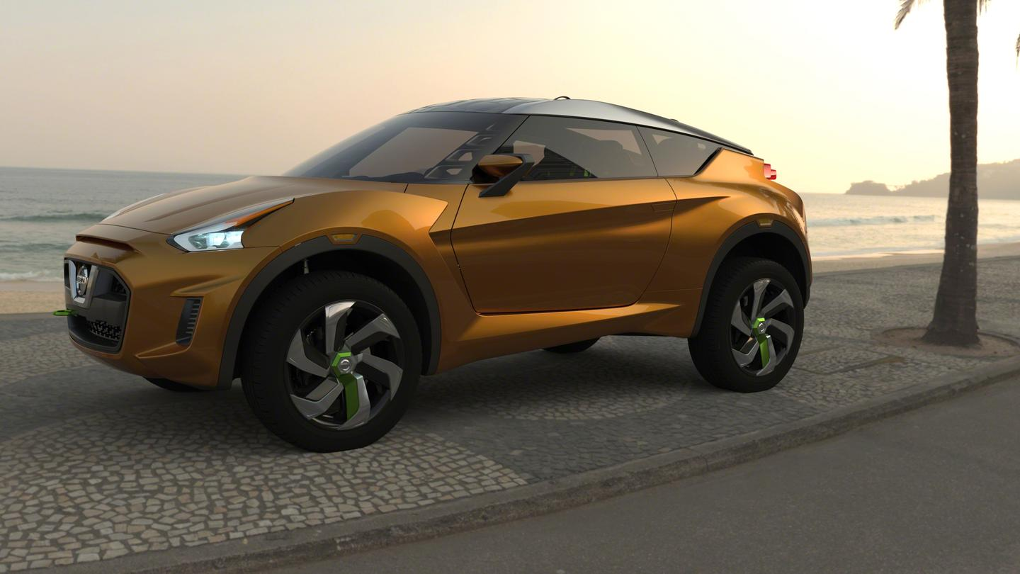 Nissan describes the EXTREM as an urban compact sports car