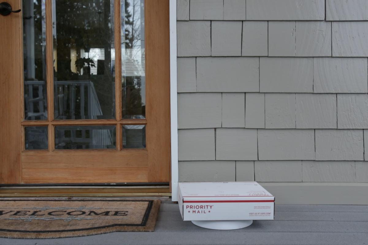 The Package Guard is one of the more straightforward solutions we've looked at when it comes to protecting deliveries