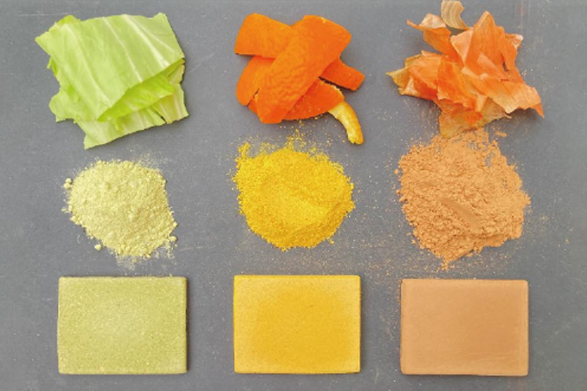 Researchers have recycled food scraps into edible, yet robust, construction materials