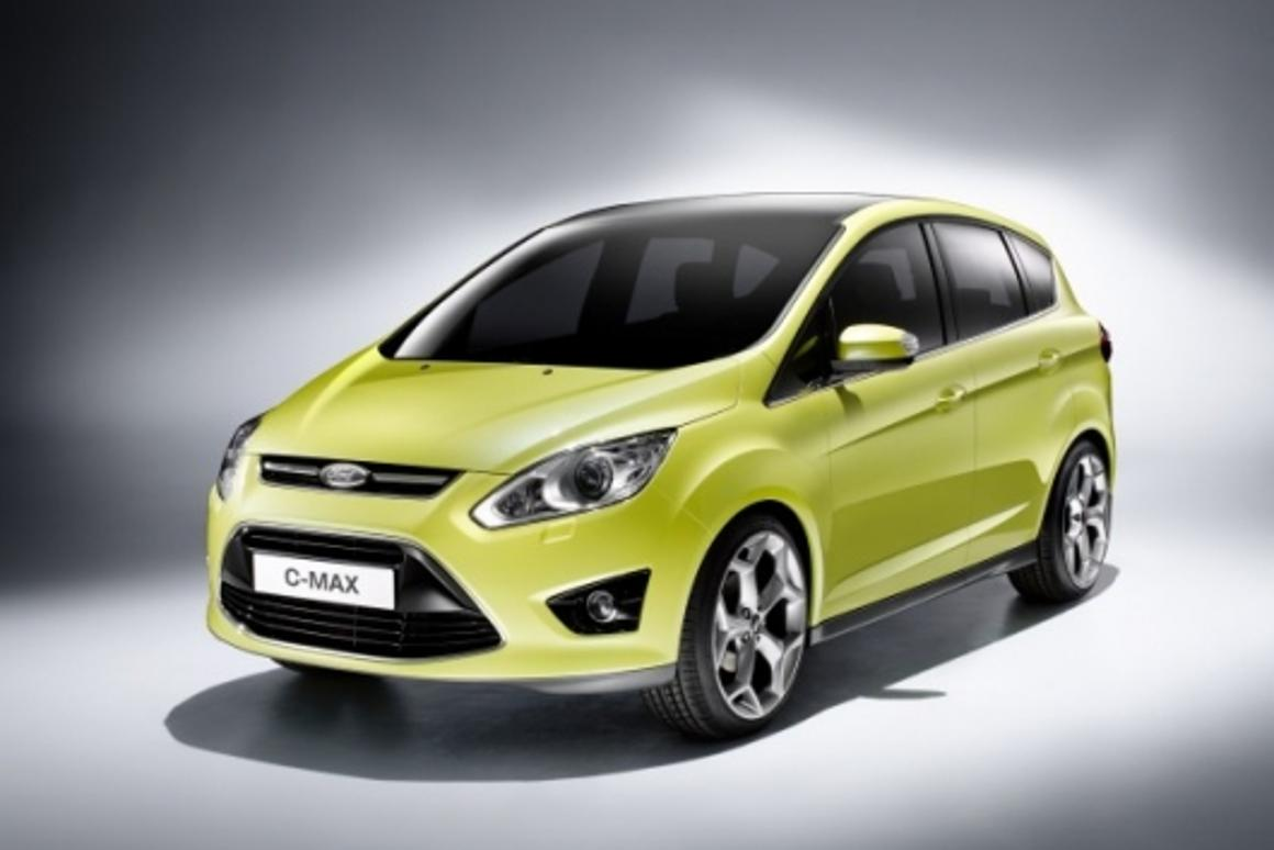 The Ford C-MAX takes its design cues from the iosis MAX concept car unveiled at this year's Geneva Motor Show