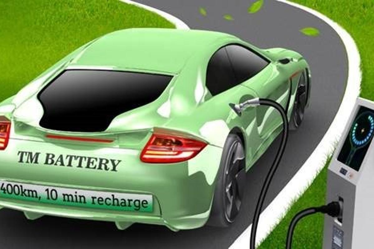 A newly developed battery has the potential to recharge electric vehicles in as little as 10 minutes, the researchers behind it claim