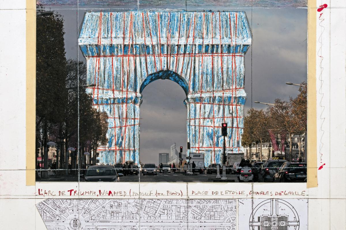 L'Arc de Triomphe, Wrapped will officially open on September 18 and run until October 13