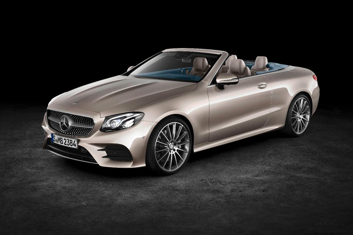 The new Mercedes E-Class Cabriolet