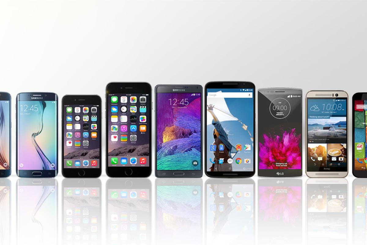 Gizmag compares the features and specs of the best smartphones you can buy in early 2015