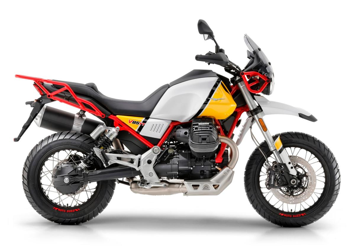 Moto Guzzi brings back the simple, rugged adventure bike with the 2019V85 TT
