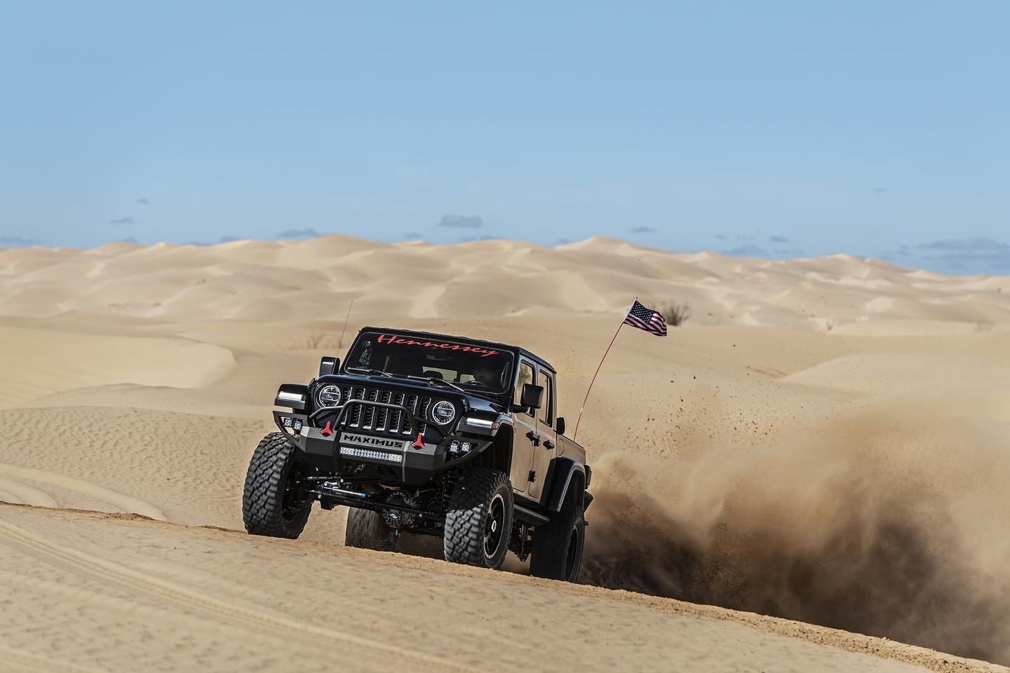 Hennessey puts its fourth Maximus build to the test on the sand dunes