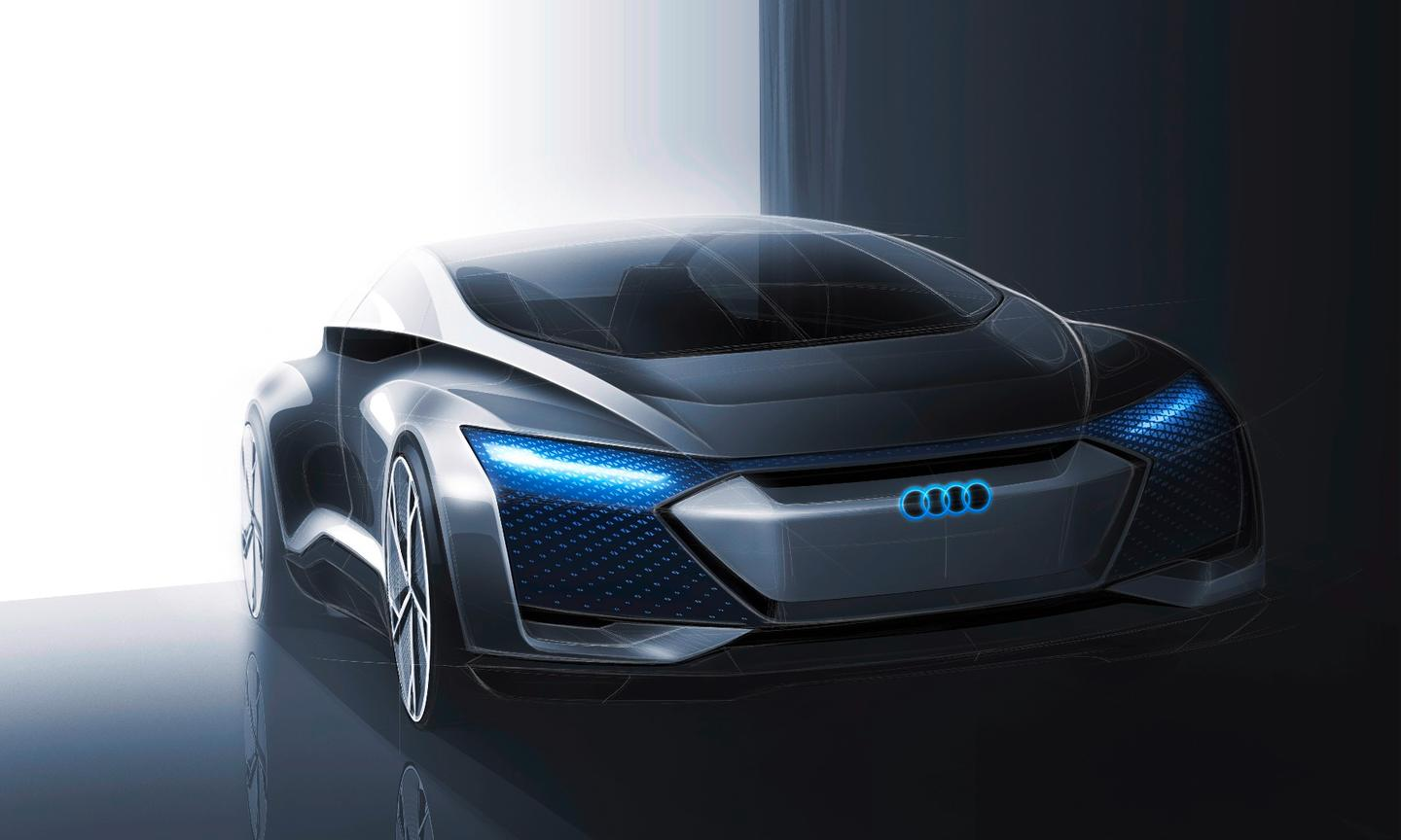 A sketch of the Audi Aicon