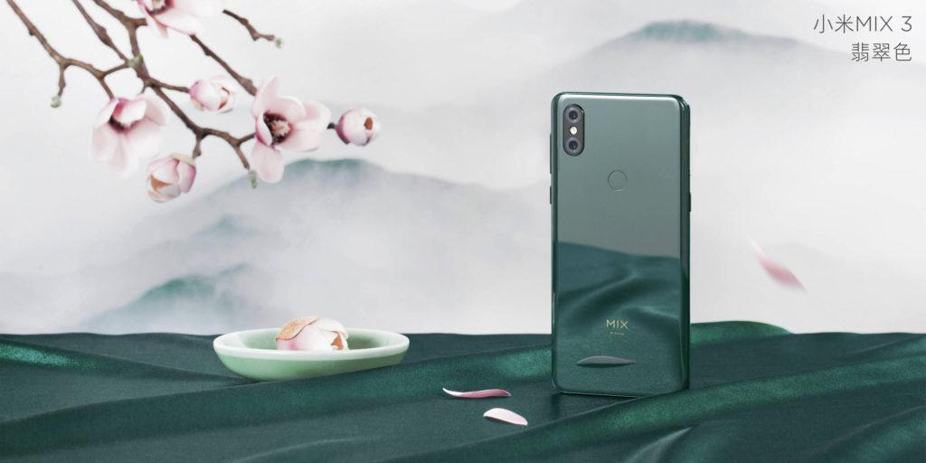 The Mi Mix 3 starts at about US$475 for a model with 6 GBRAM and 128 GB storage, and goes up to about $720 for a limited edition model with 10 GB RAM and 256 GB storage