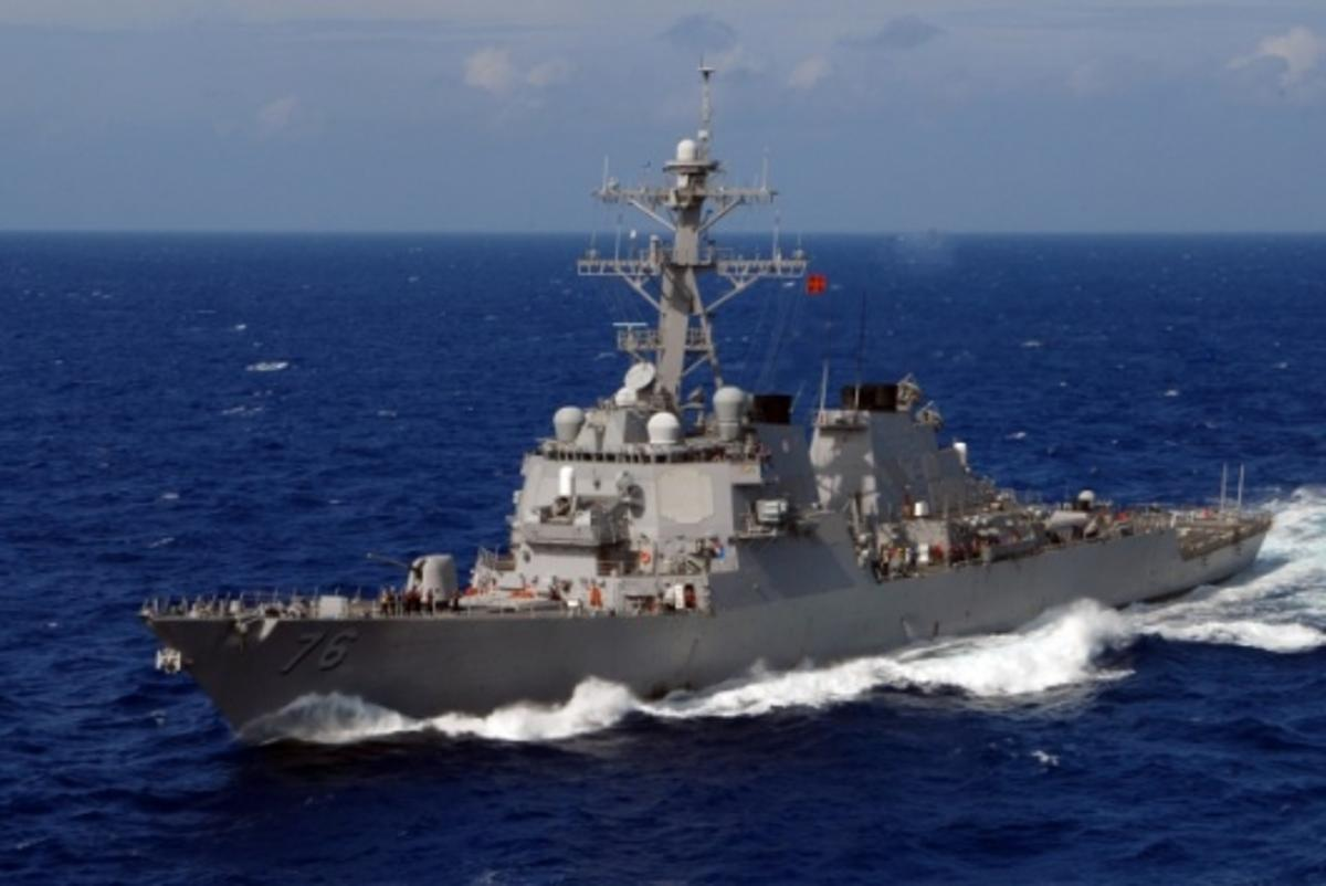 The guided-missile destroyer USS Higgins (Credit: U.S. Navy photo by Mass Communication Specialist Seaman John Wagner)