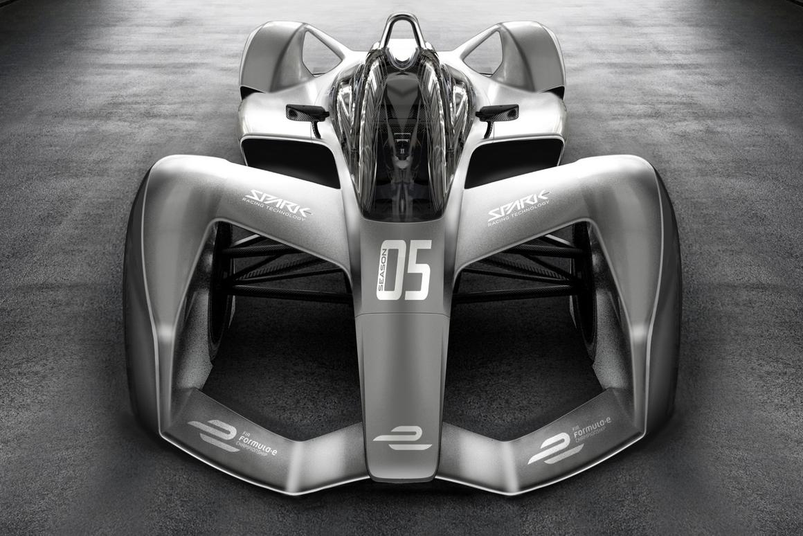Spark's 2018 Formula E electric race car chassis isa looker, but why are these e-cars still so slow and restricted?