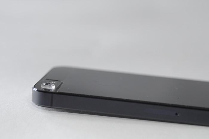 The Micro Phone Lens on an iPhone