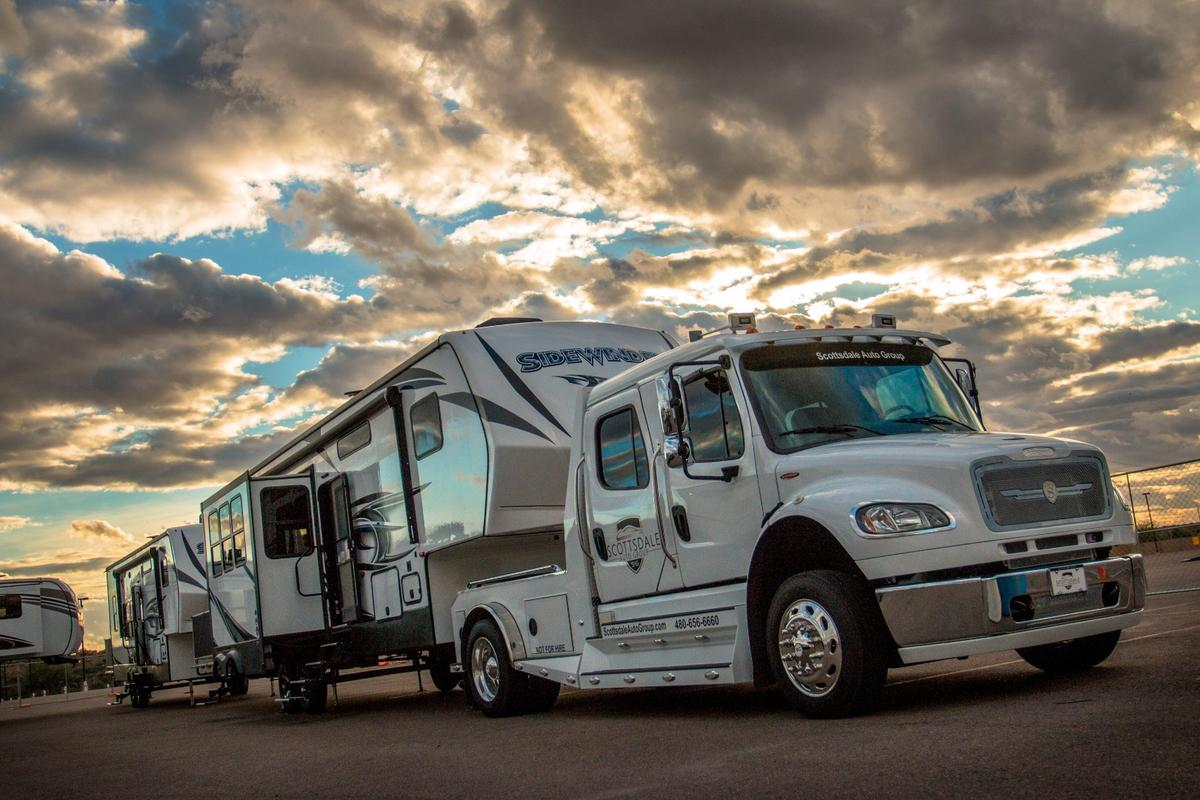 Quite the camping rig