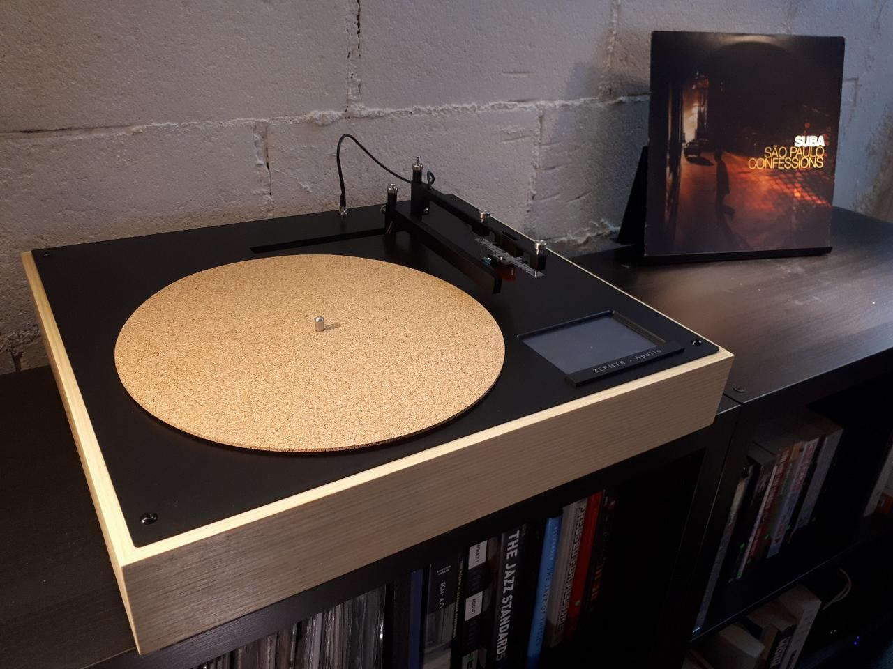 Apollo turntable combines an analog heart with digital brains