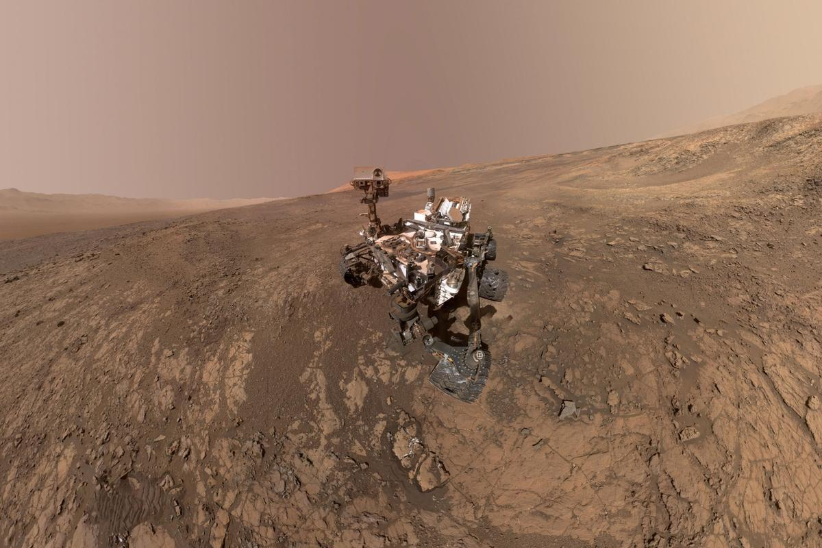 Data from NASA's Curiosity Mars rover were used in a new paper studying how asteroids impacting the ancient Martian atmosphere could have produced key ingredients to life