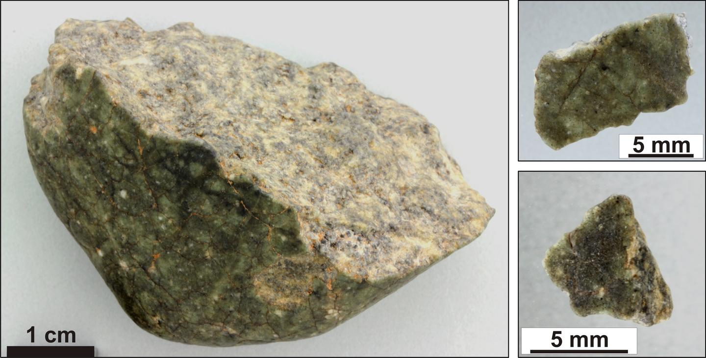 The new mineral was discovered in a meteorite called Oued Awlitis 001