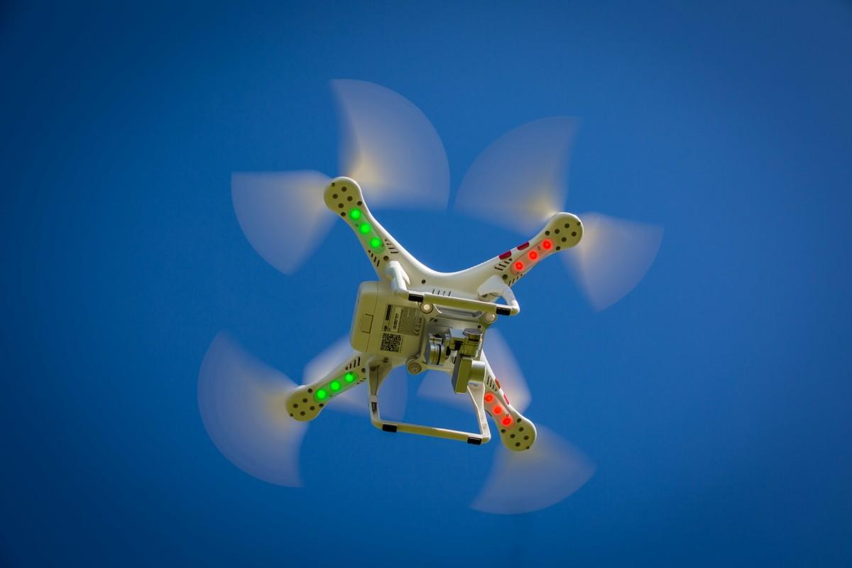 Drones could be enlisted to help in the fight against the coronavirus pandemic