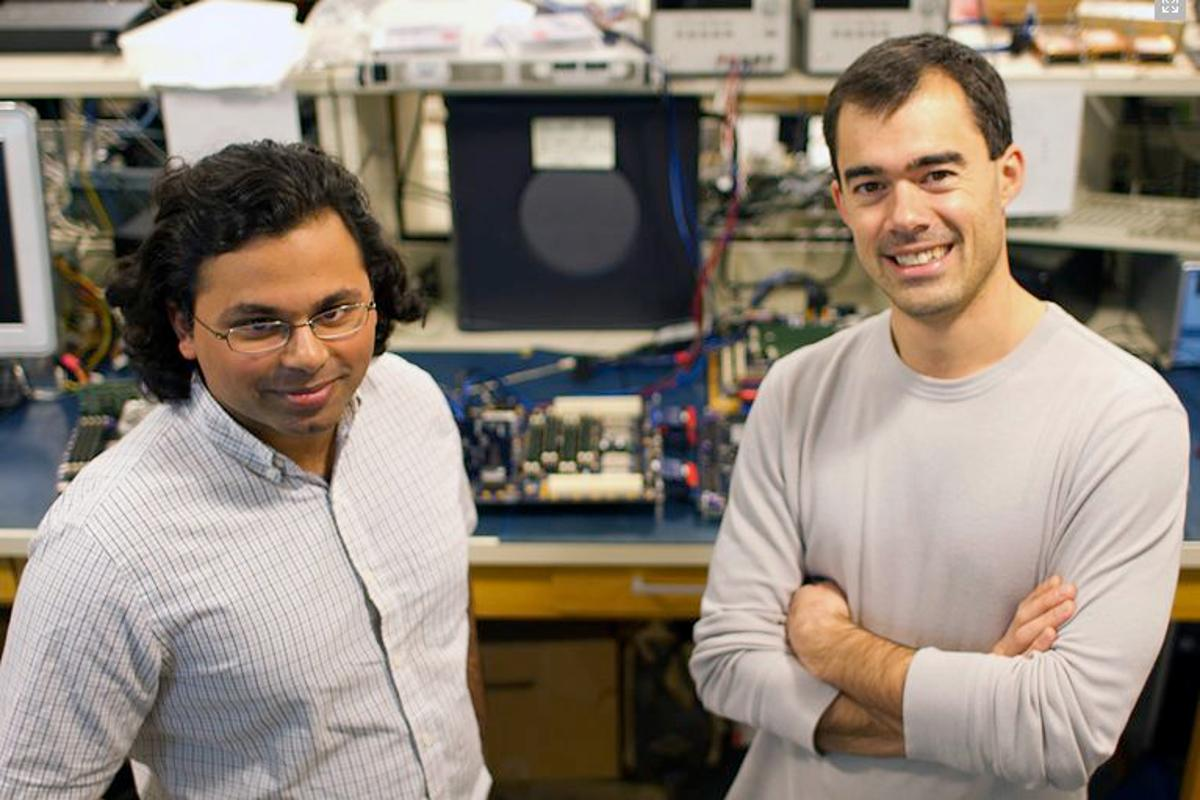 Former graduate student Nirav Dave (left) and PhD student Myron King (right) were part of the MIT team that designed the BlueSpec extension