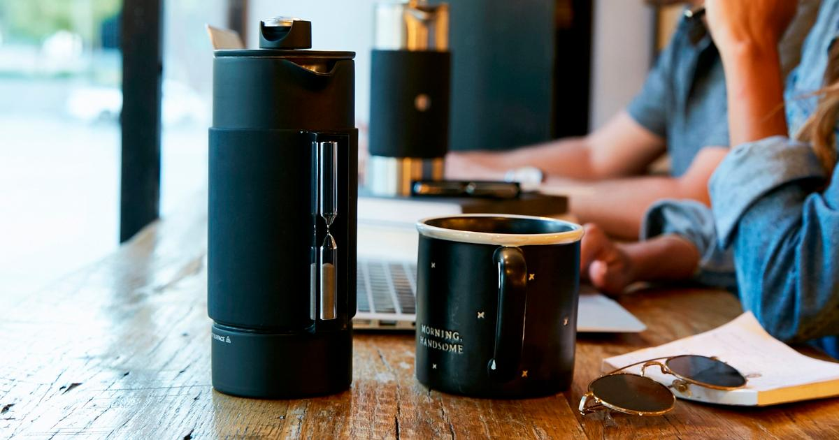 Rite Press plunges the classic French coffee press into the 21st century