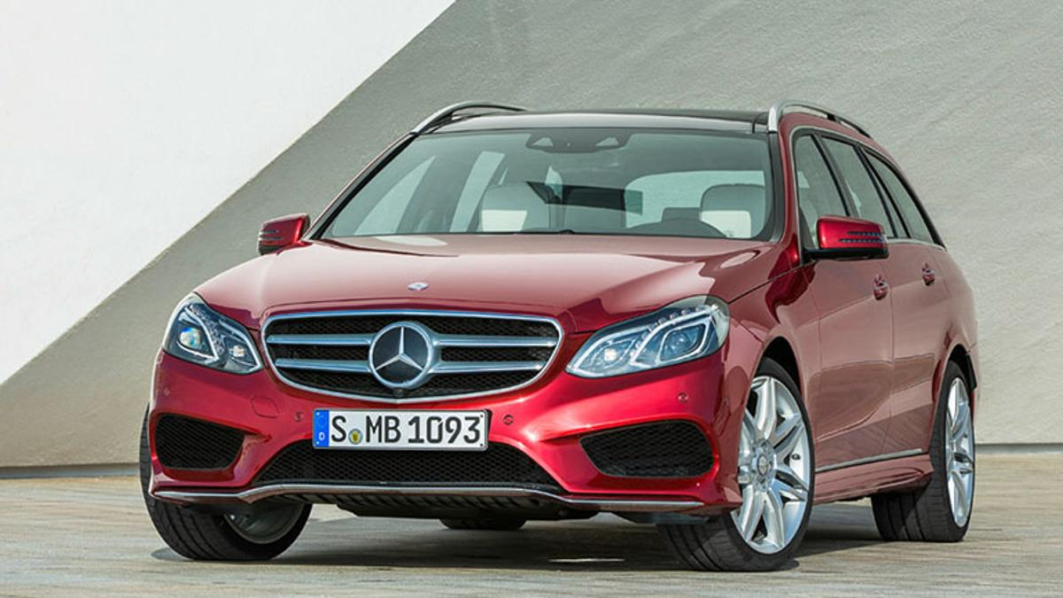 2014 model year Mercedes-Benz E-Class Station Wagon with AMG trim