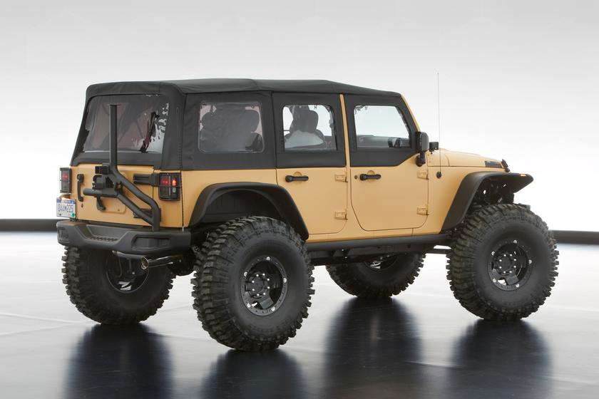 Jeep reveals its Easter line-up of concept off-roaders