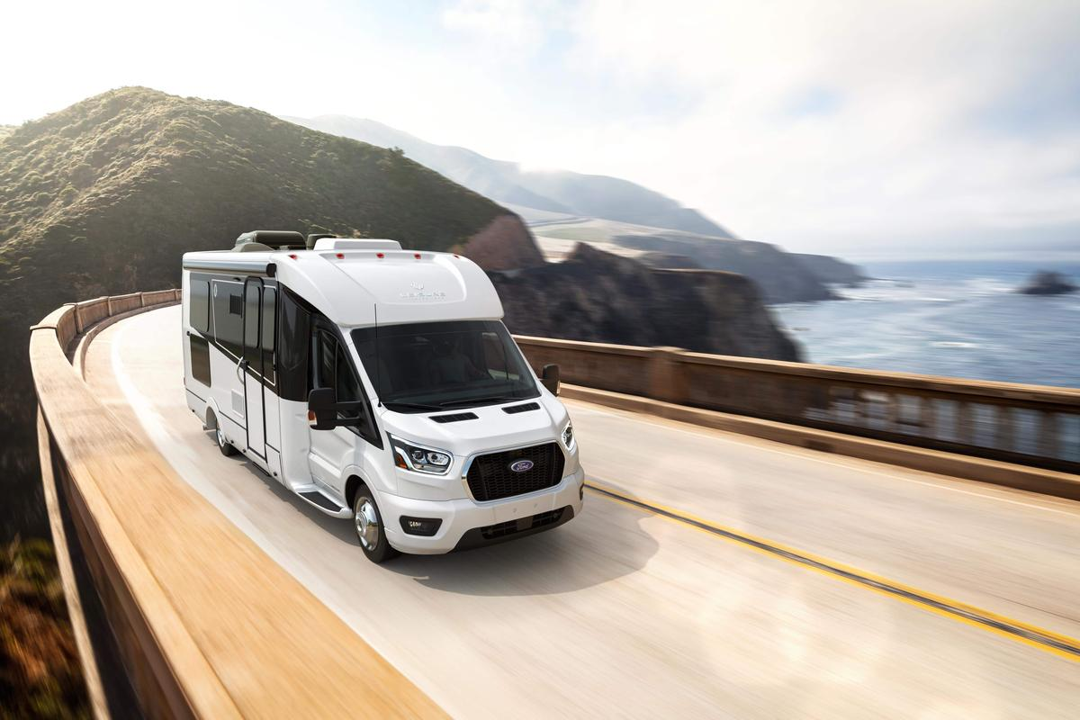 Leisure Travel Vans launches a spacious, multipurpose rear lounge layout for its Ford Transit Wonder