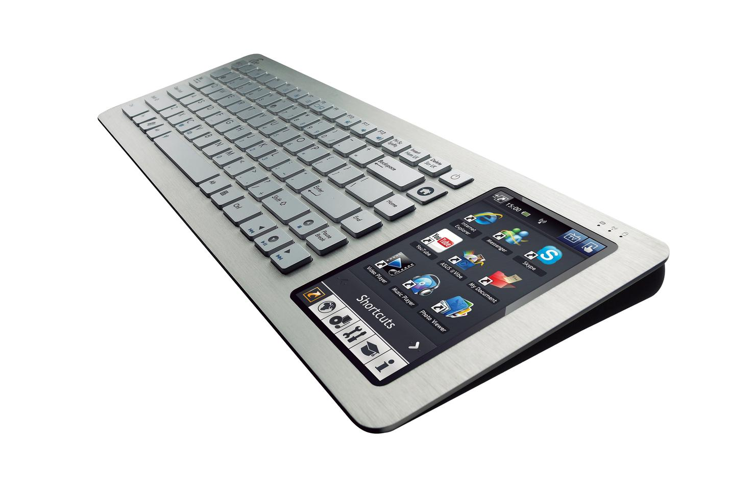 ASUS' Eee keyboard pc combines all the functionality of a netbook with a wireless keyboard