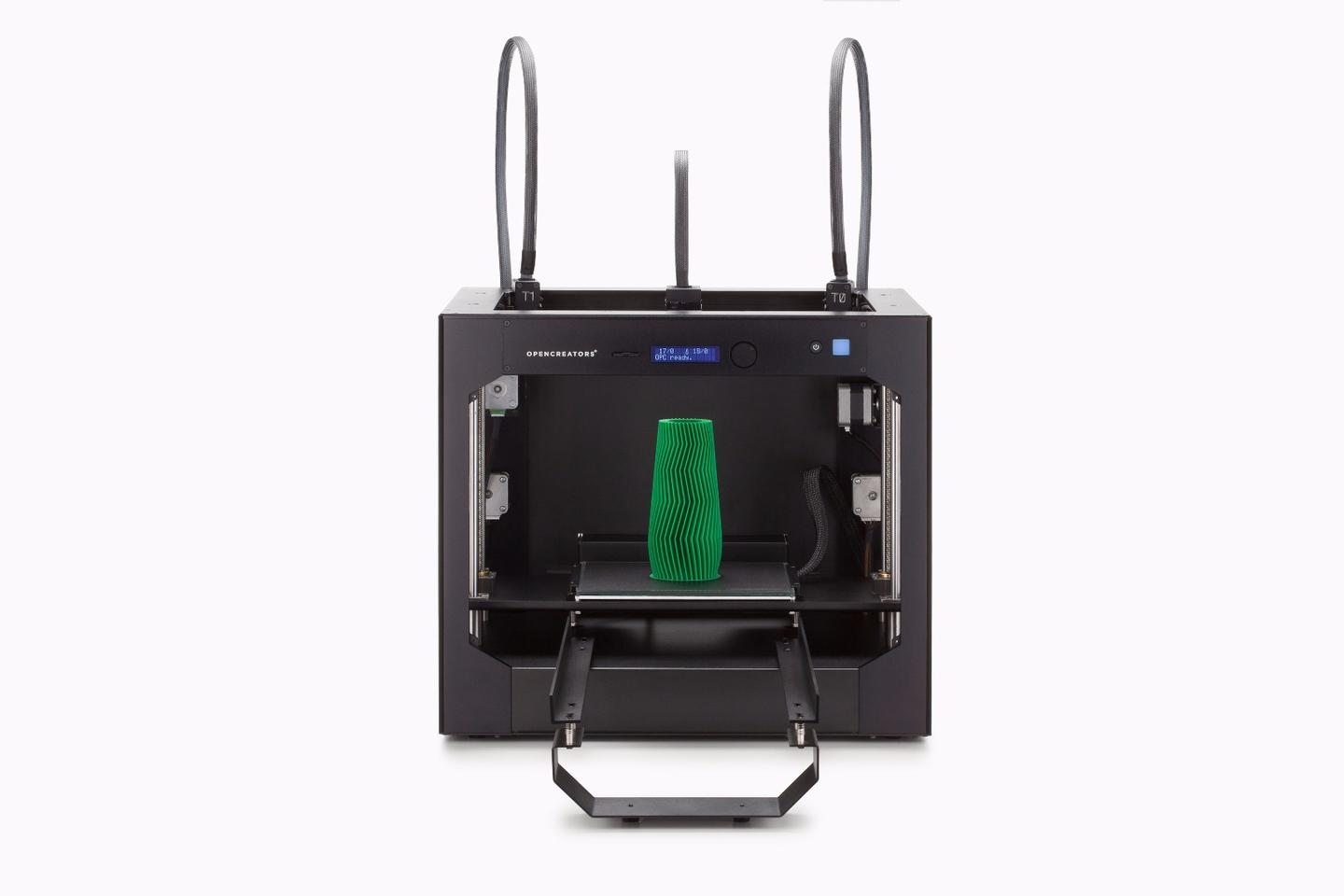 Design prototype of theBS210fused filament printer from Opencreators