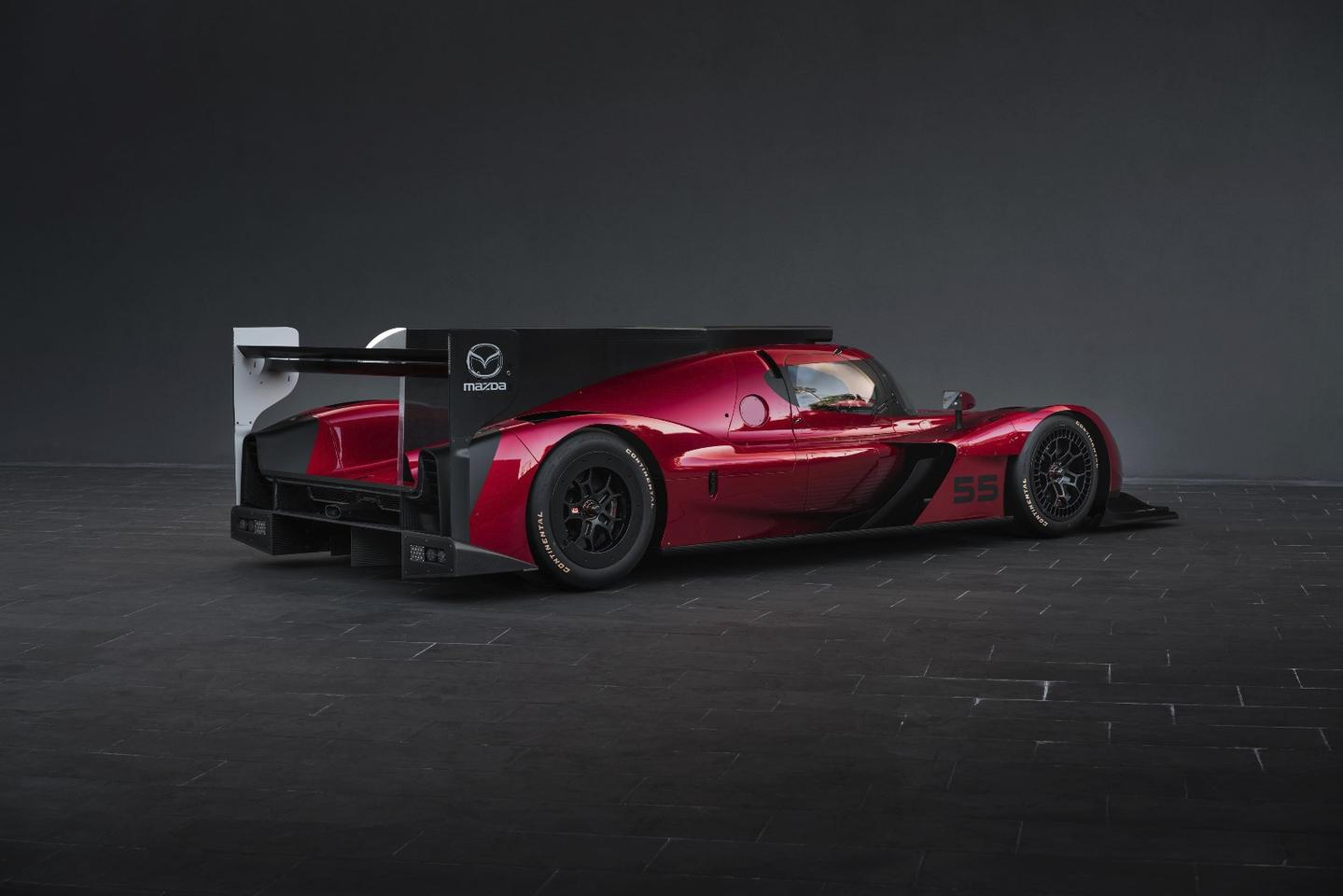The IMSA WeatherTech SportsCar Championship is a premier automotive track racing event in which two types of vehicles compete in four classes of racing simultaneously – the Mazda RT24-P is a new-generation car for the Prototype class on that circuit