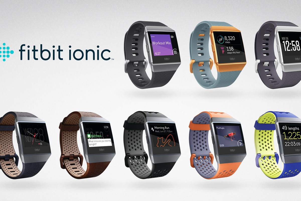 Fitbit says the Ionic is its first health and fitness smartwatch