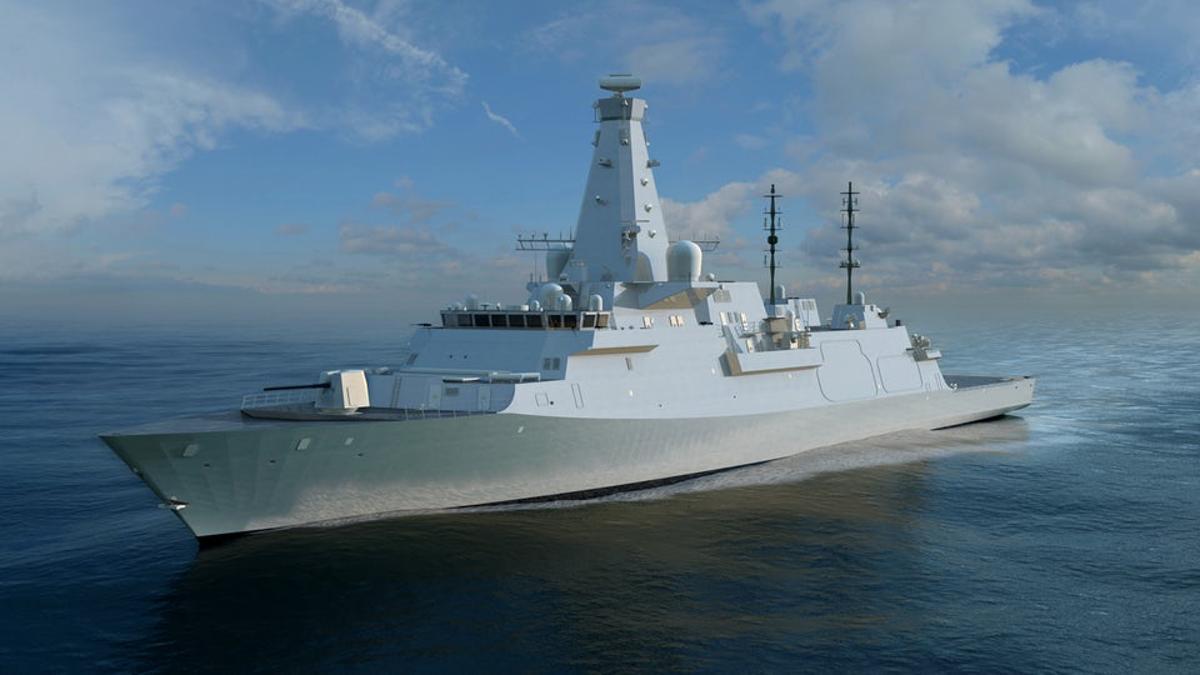 The Type 26 HMS Glasgow