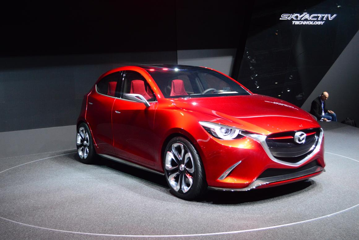In addition to the HAZUMI concept, Mazda revealed a newly developed 1.5 liter clean diesel engine that will eventually make its way into production (Photo: CC Weiss/gizmag.com)