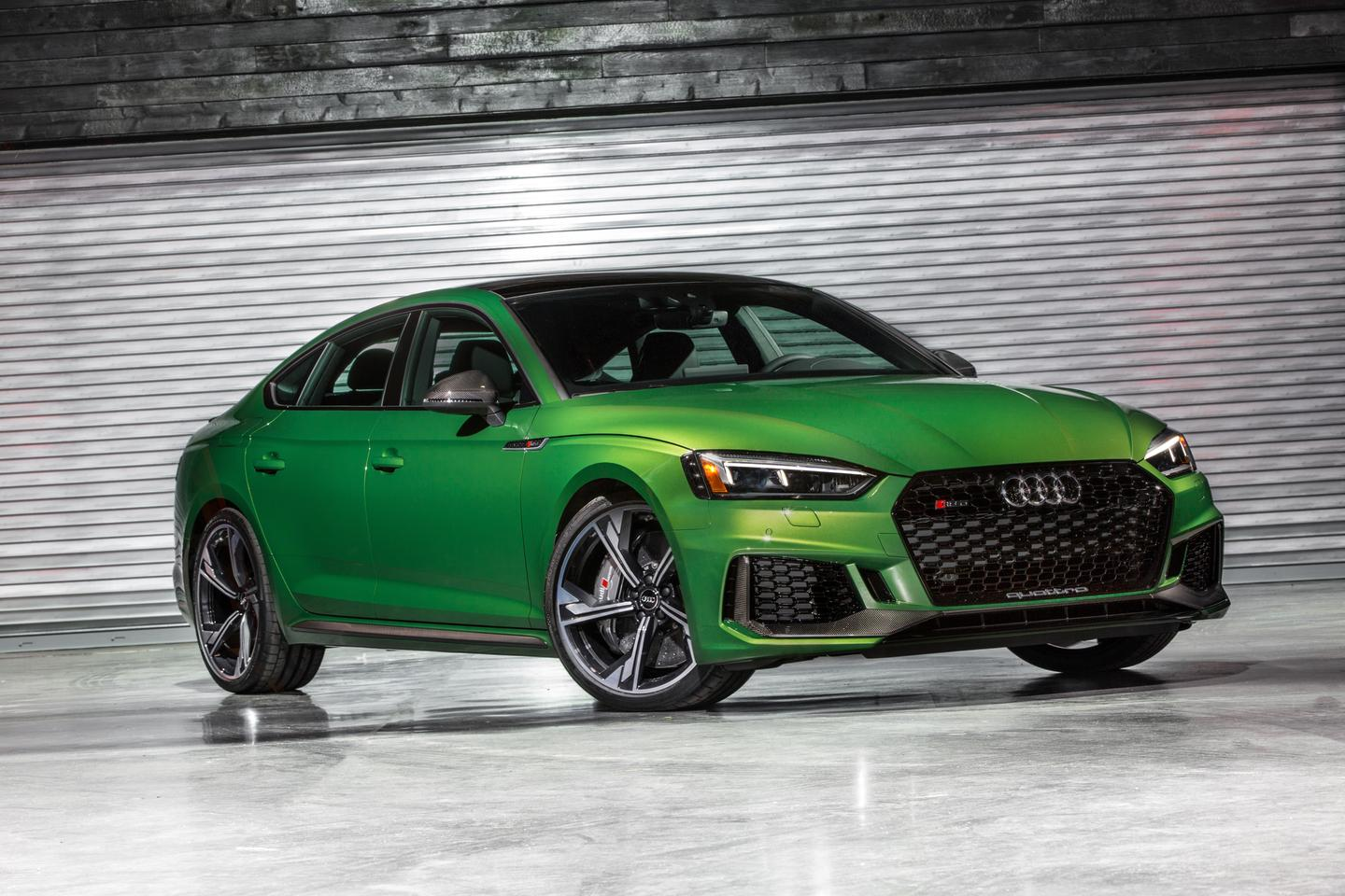 The design of the new Sportback is taken from the Audi 90 quattro IMSA GTO racer, befitting the RS name and Audi Sport family