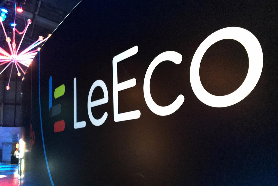 Chinese company LeEco is expanding into the USmarket with a range of products