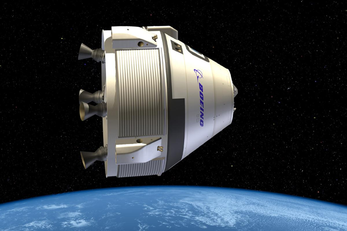 The CST-100, comprised of a Crew Module and a Service Module, will be constructed at Kennedy Space Center (Image: Boeing)