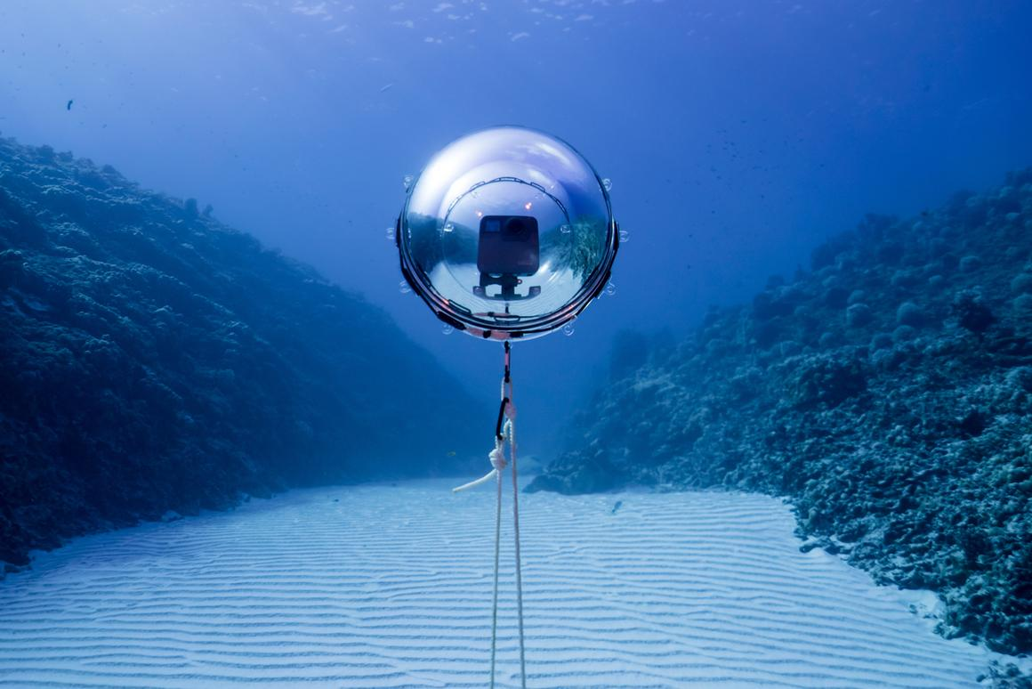 The 360bubble Deep is presently on Kickstarter