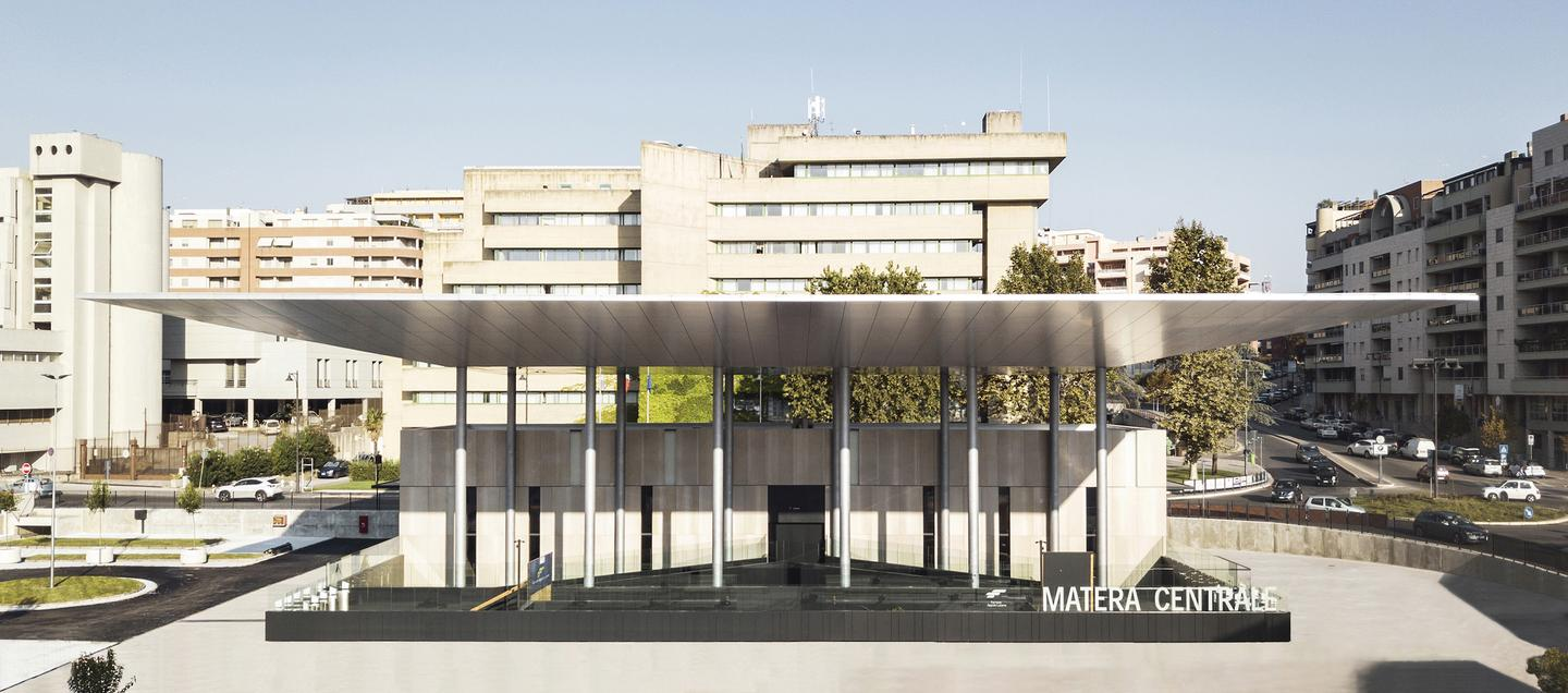 Matera Centrale was recently officially inaugurated and is now in operation