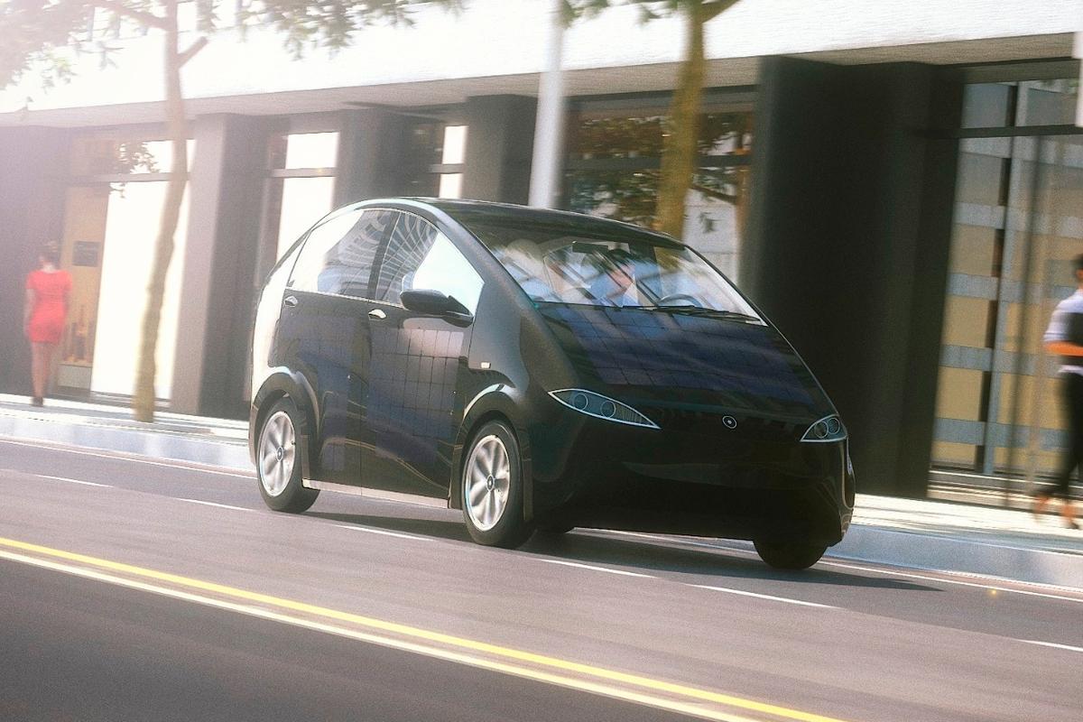 The Sono Motors Sion on the move