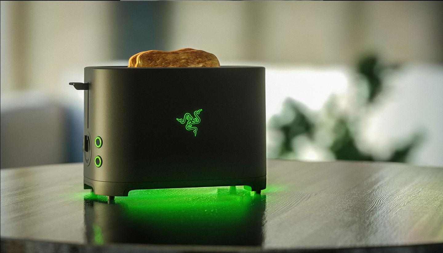 The Razer Toaster as imagined on 'Project Breadwinner'