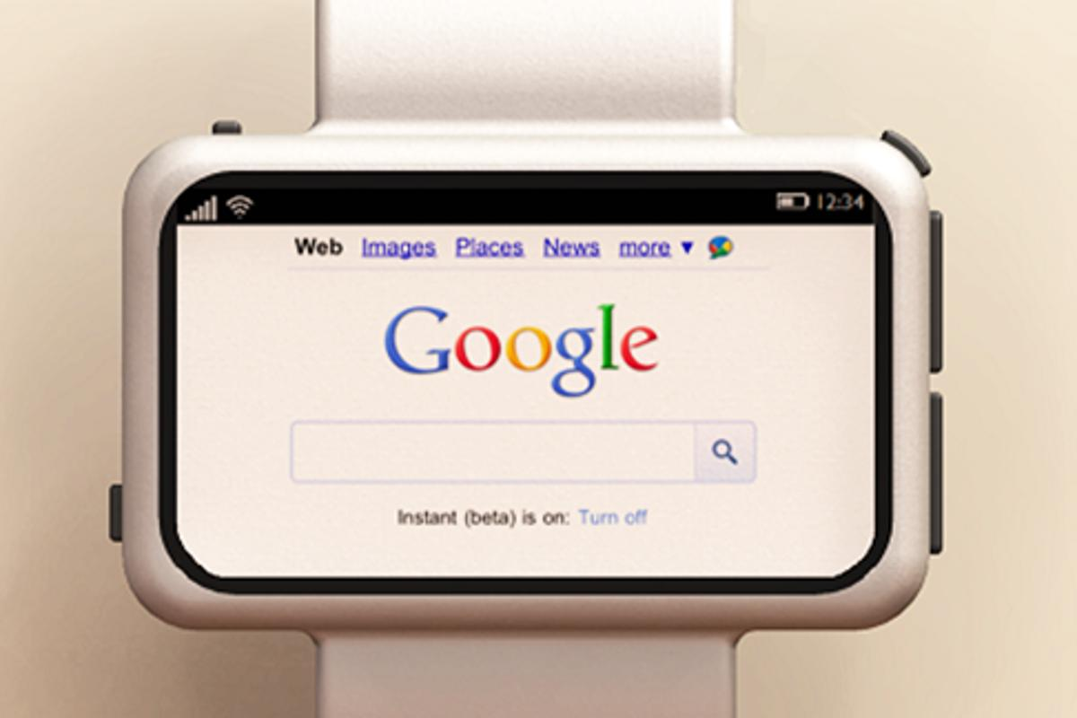 Browse the Internet from your wrist