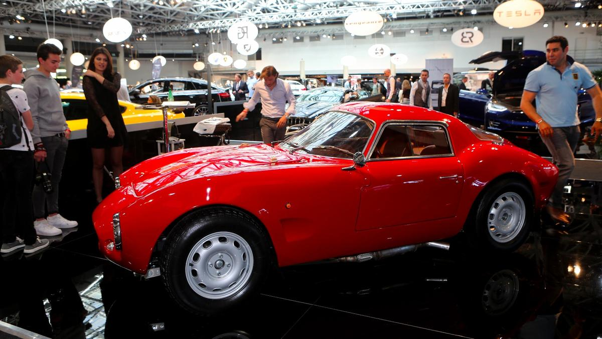 The Effeffe Berlinetta makes its production debut at Top Marques Monaco 2016