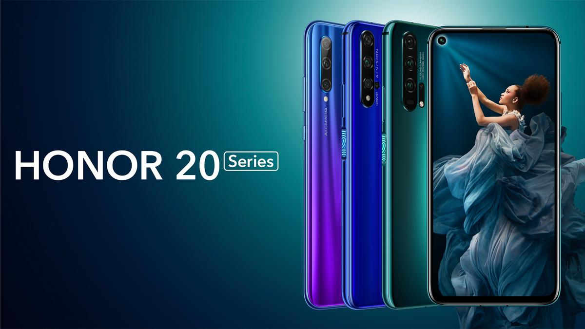 The Honor 20 Lite, Honor 20 and Honor 20 Pro